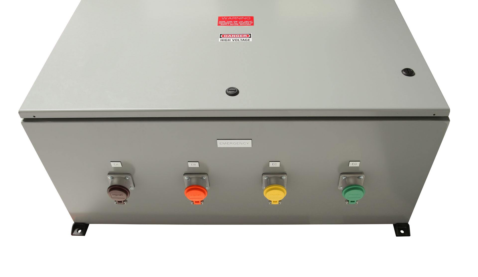 Company Switch / Breaker Cam-Lok® Outlet Tap Box | PSI Control Solutions