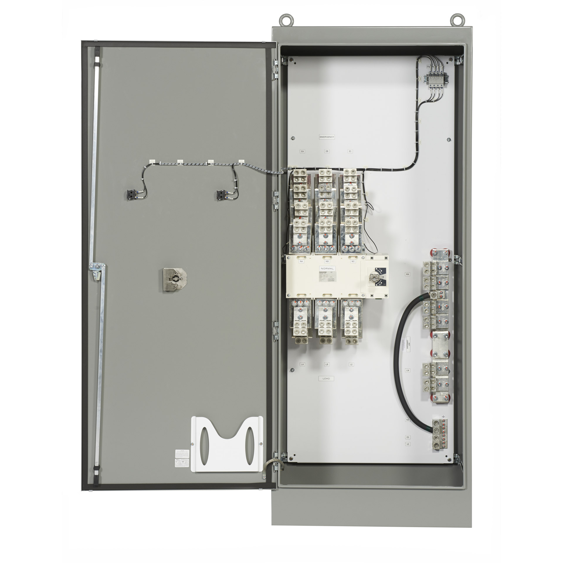 PSI Manual Transfer Switch with Rotary Switch