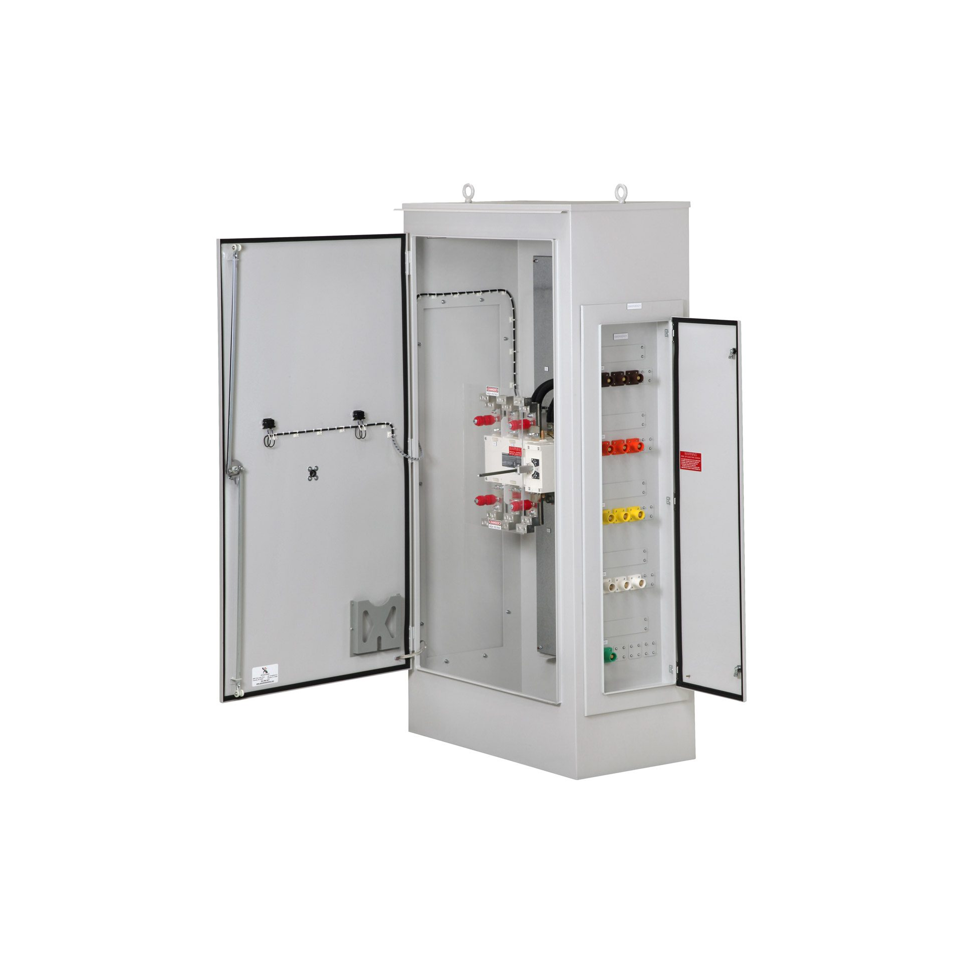 Psi Manual Transfer Switch With Rotary 200 3000 Amps 30 Amp Fuse Box Safety Combination Cam Lok Receptacles