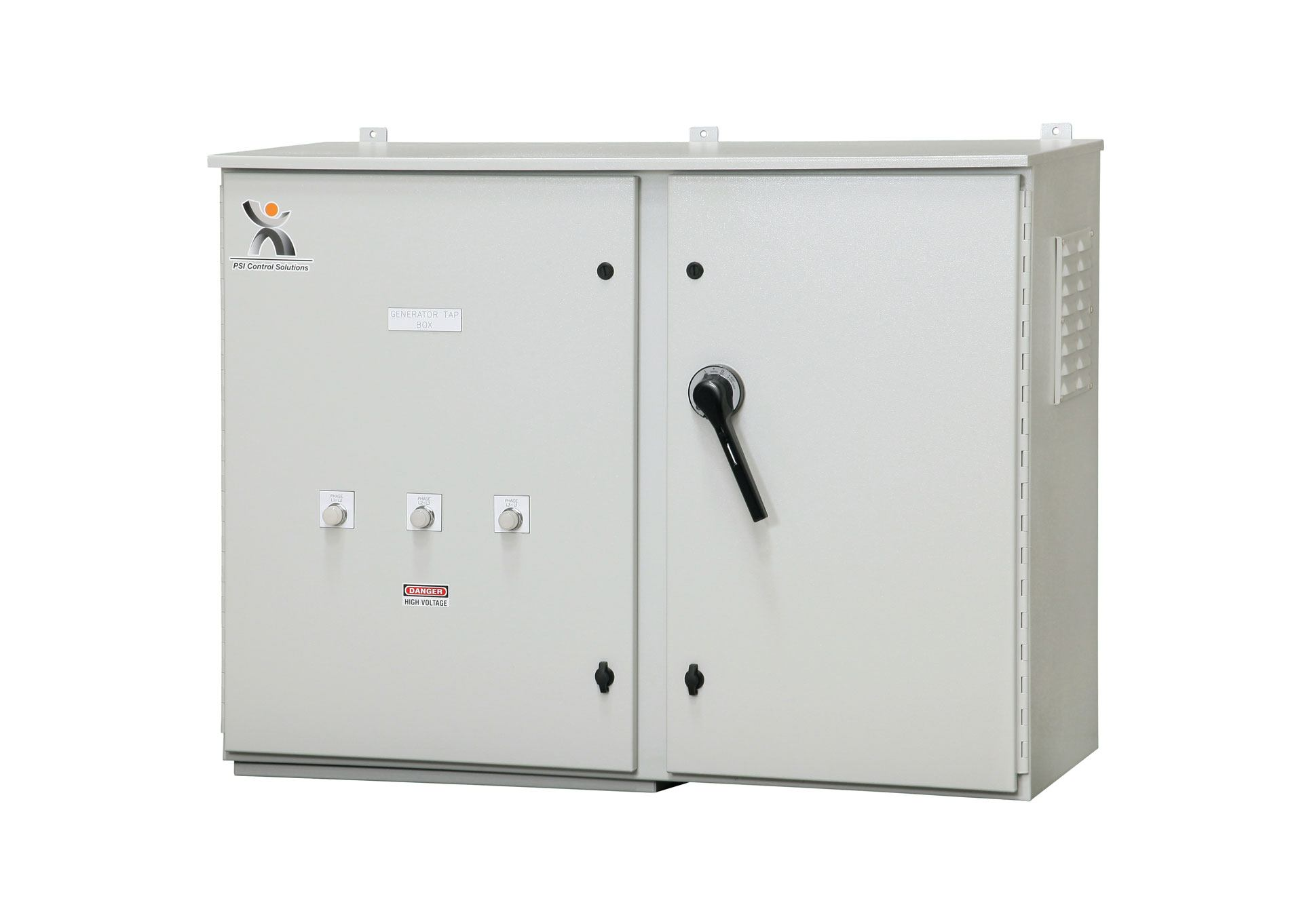 Wall Mount Circuit Breaker : Generator tap box wall mount with side compartment psi